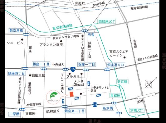 東京支社地図